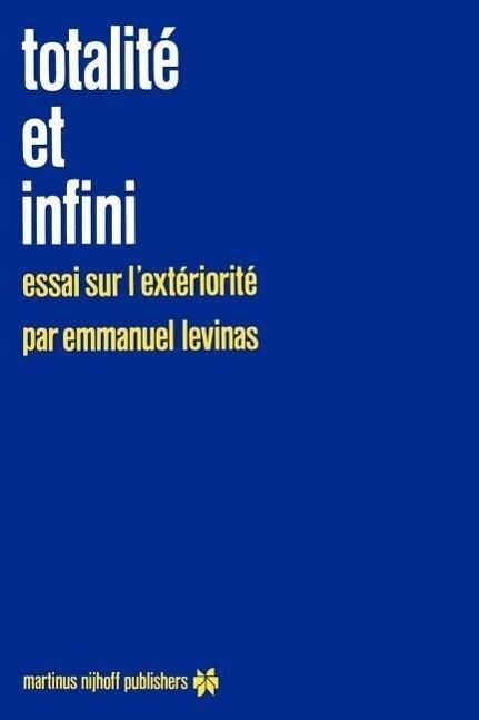 Totalité et infini als Buch (kartoniert)