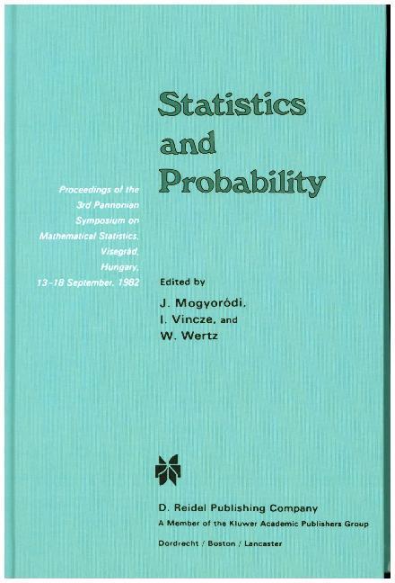 Statistics and Probability als Buch (gebunden)