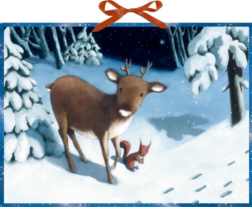 Rentier-Weihnacht Wandkalender (Kalender)