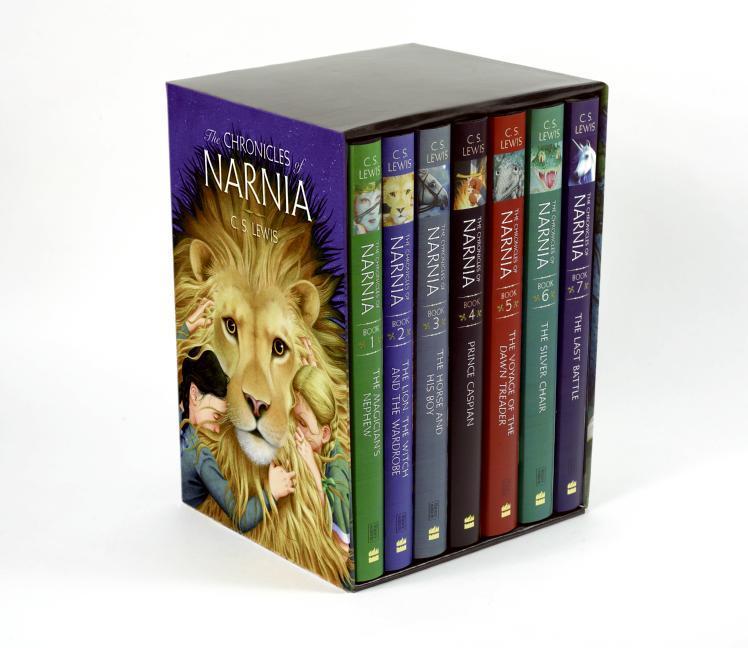 The Chronicles of Narnia Box Set: 7 Books in 1 Box Set als Taschenbuch