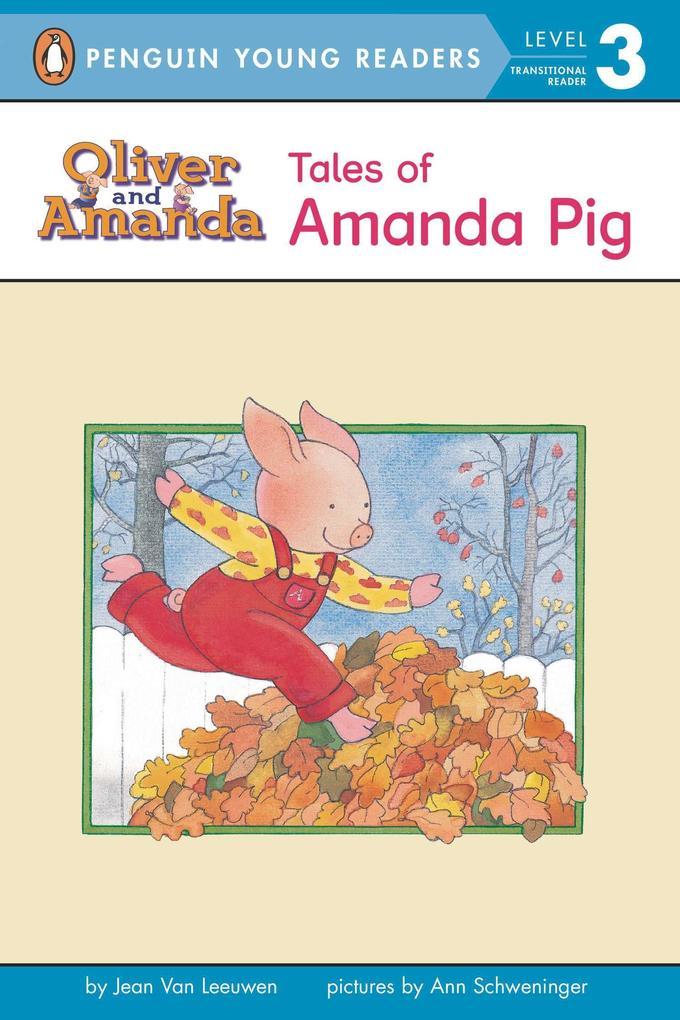 Tales of Amanda Pig: Level 2 als Taschenbuch