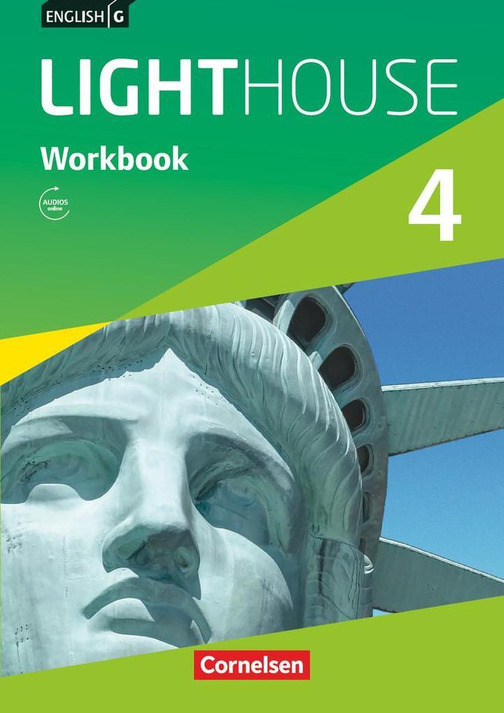 English G LIGHTHOUSE 04: 8. Schuljahr. Workbook mit Audios online als Buch (kartoniert)