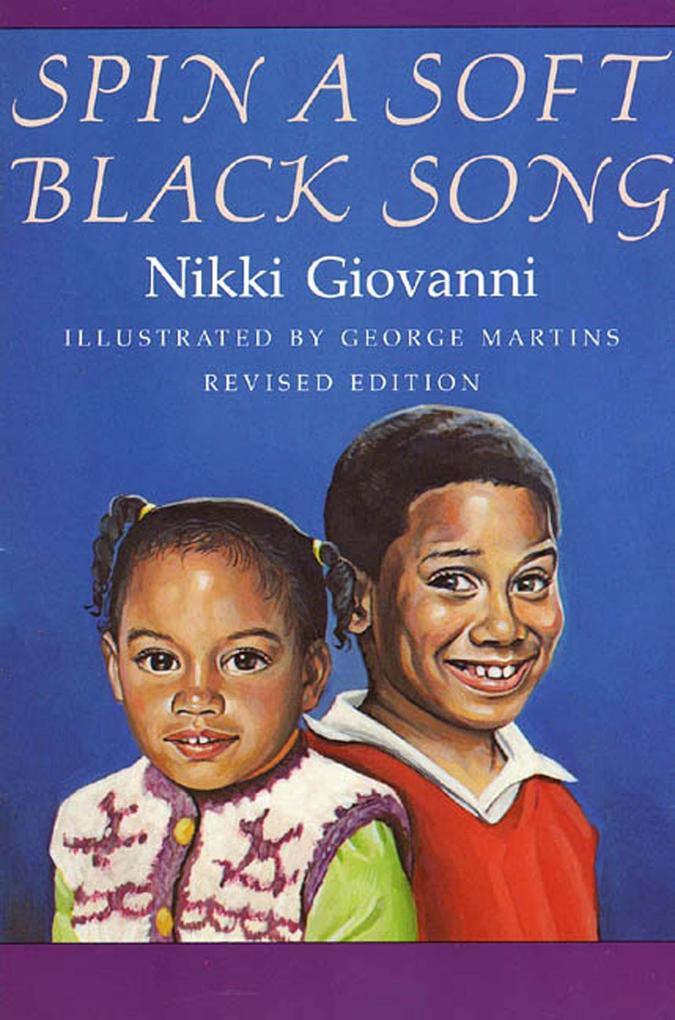 Spin a Soft Black Song: Poems for Children als Taschenbuch