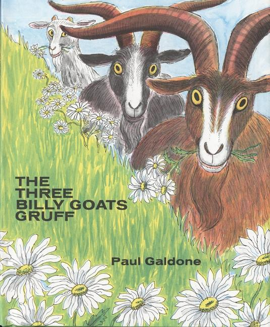 The Three Billy Goats Gruff als Buch (gebunden)
