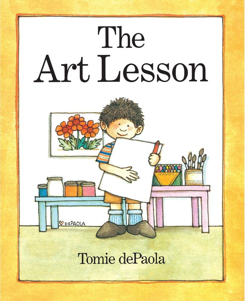 The Art Lesson als Buch (gebunden)