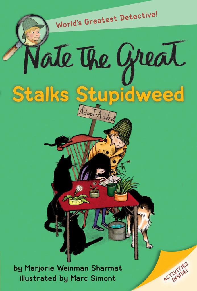 Nate The Great Stalks Stupidweed als Taschenbuch