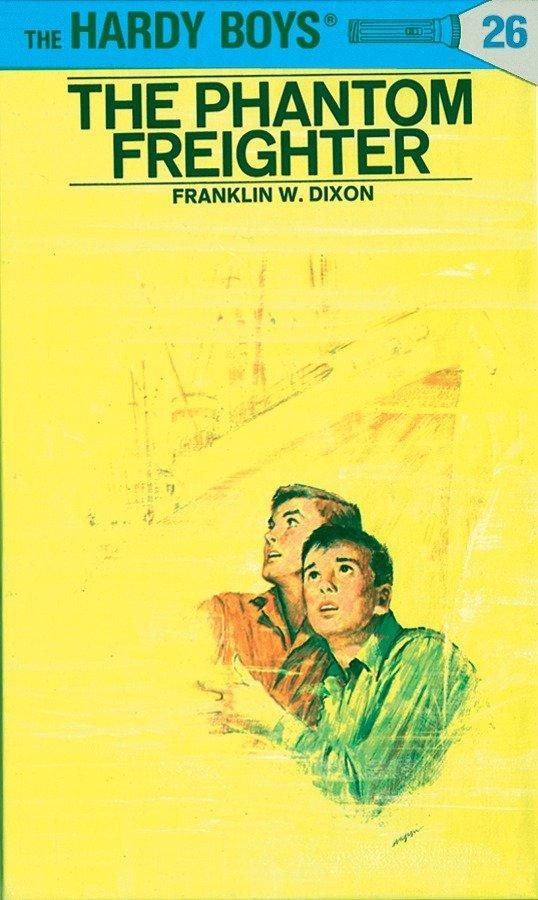 Hardy Boys 26: The Phantom Freighter als Buch (gebunden)