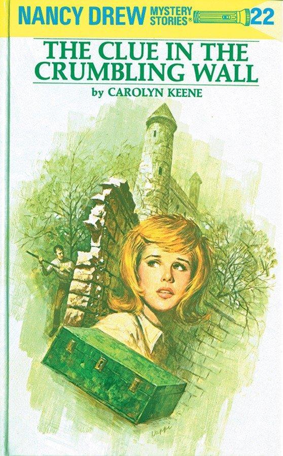 The Clue in the Crumbling Wall als Buch (gebunden)