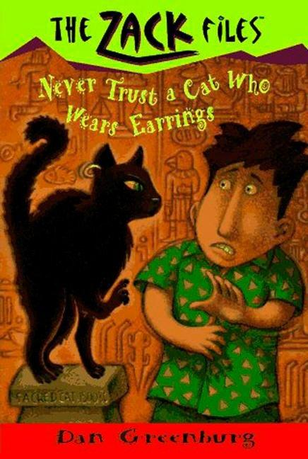 Zack Files 07: Never Trust a Cat Who Wears Earrings als Taschenbuch