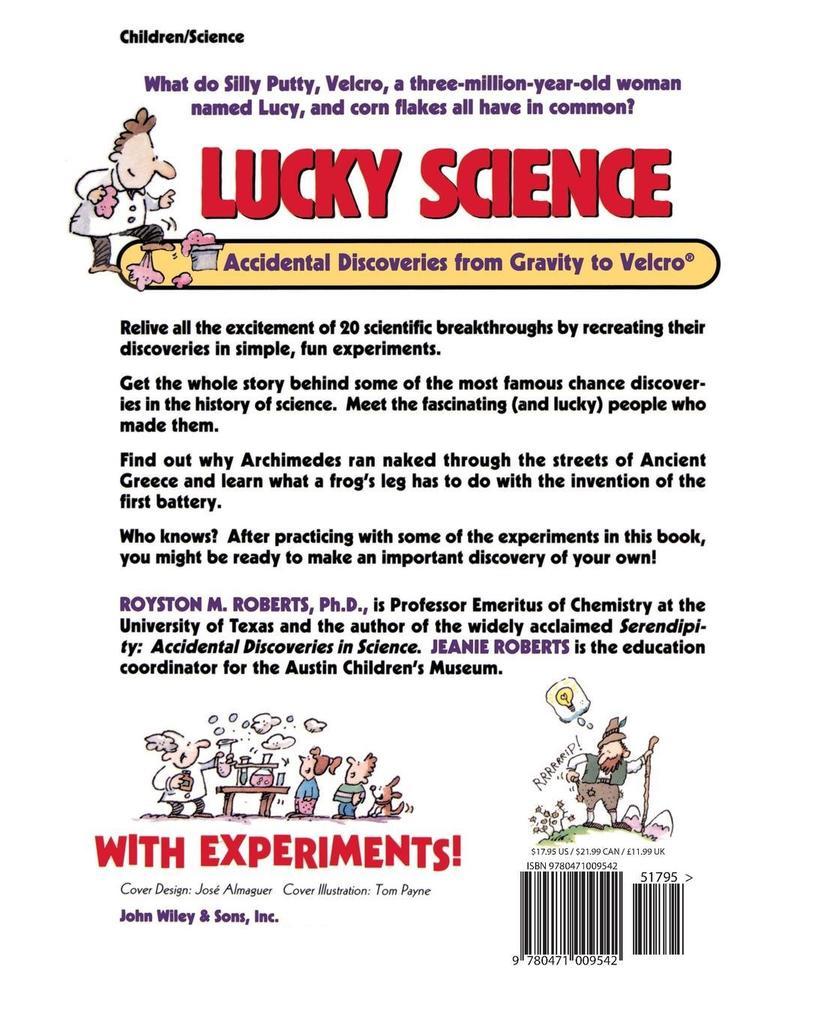 Lucky Science als Taschenbuch
