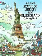Statue of Liberty and Ellis Island Colouring Book