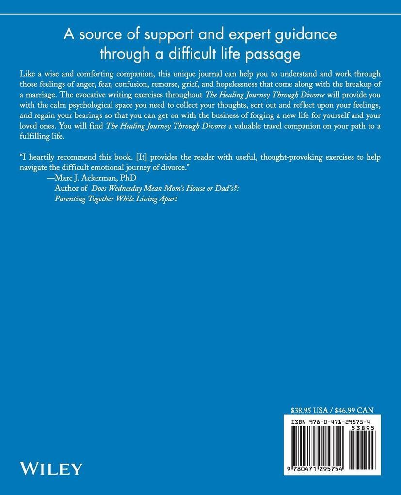 The Healing Journey Through Divorce als Taschenbuch