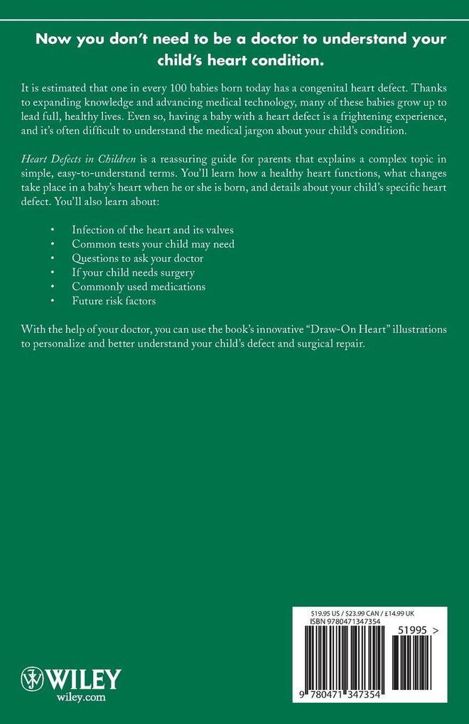 Heart Defects in Children als Taschenbuch