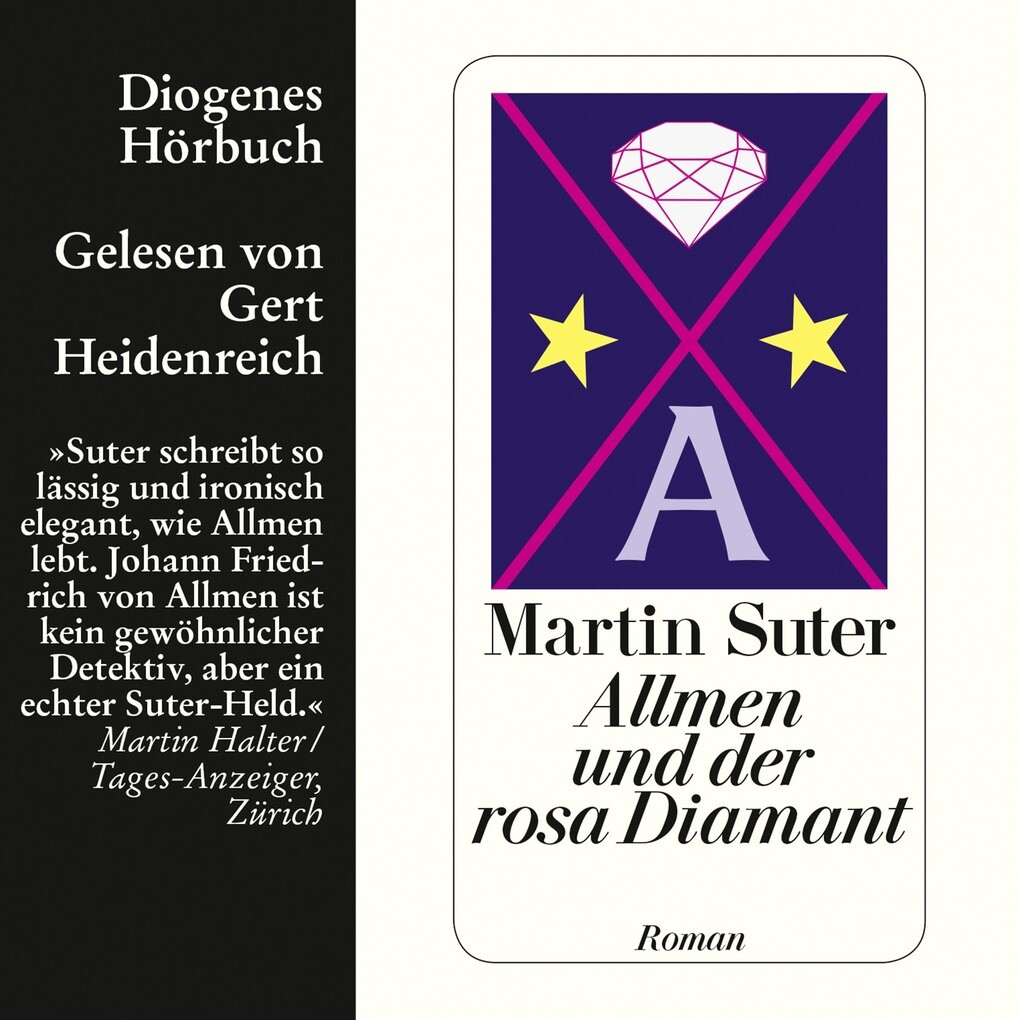 Allmen und der rosa Diamant als Hörbuch Download