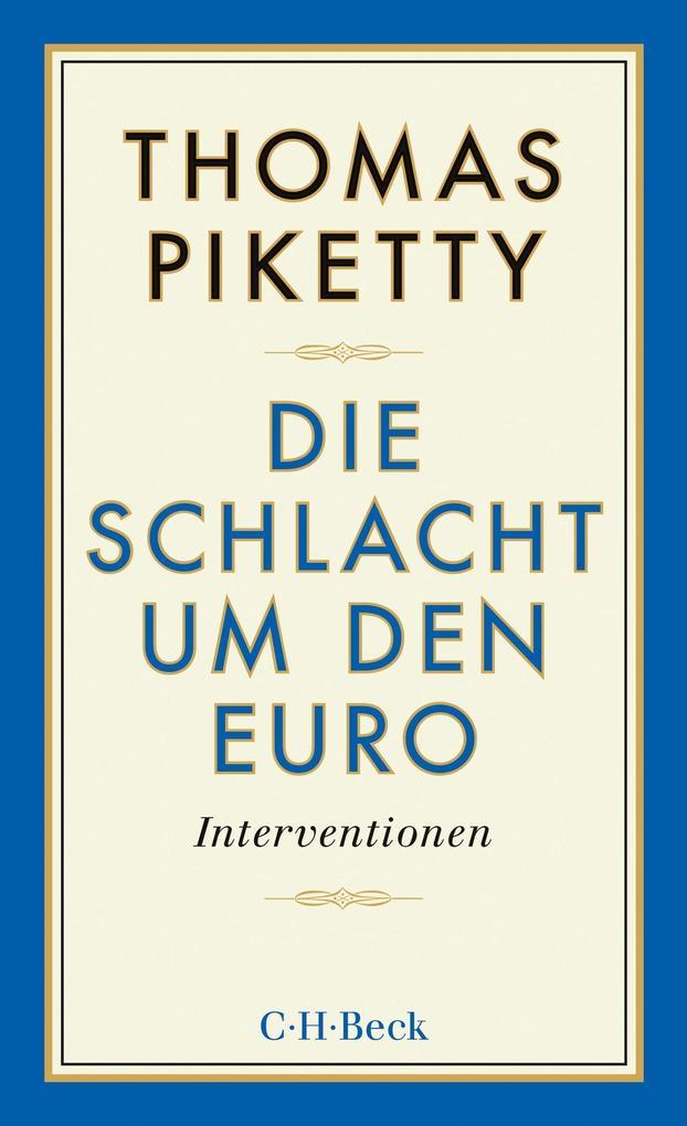 Die Schlacht um den Euro als eBook epub