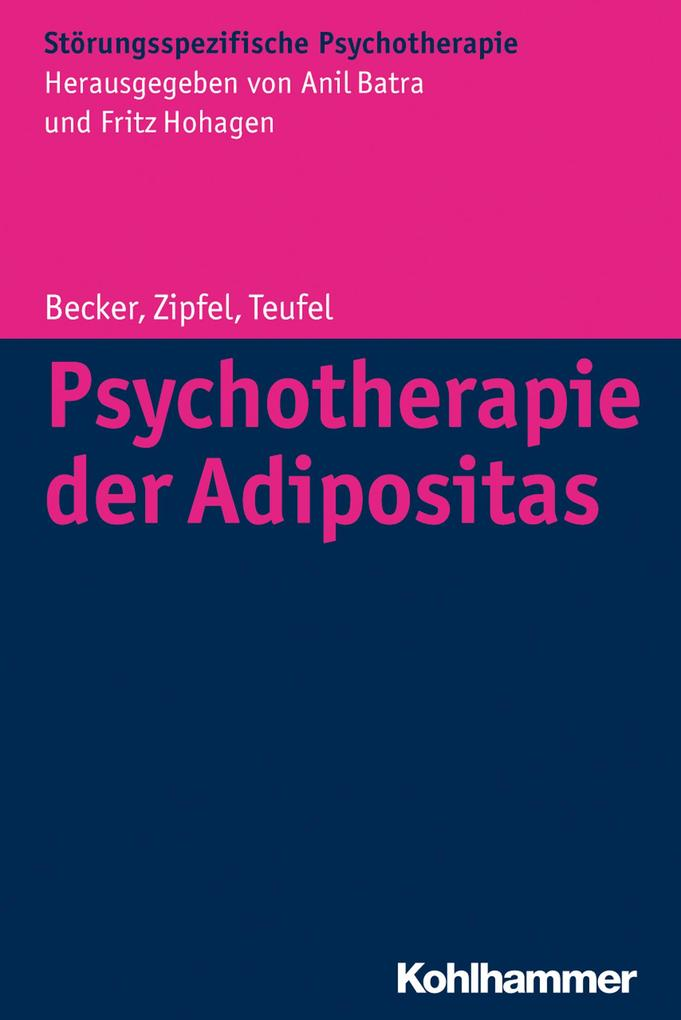 Psychotherapie der Adipositas als eBook epub