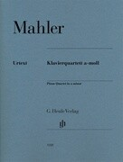 Klavierquartett a-moll. Partitur und Stimmen