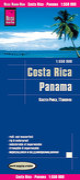 Reise Know-How Landkarte Costa Rica, Panama 1 : 550.000