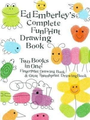 Ed Emberley's Complete Funprint Drawing Book als Taschenbuch