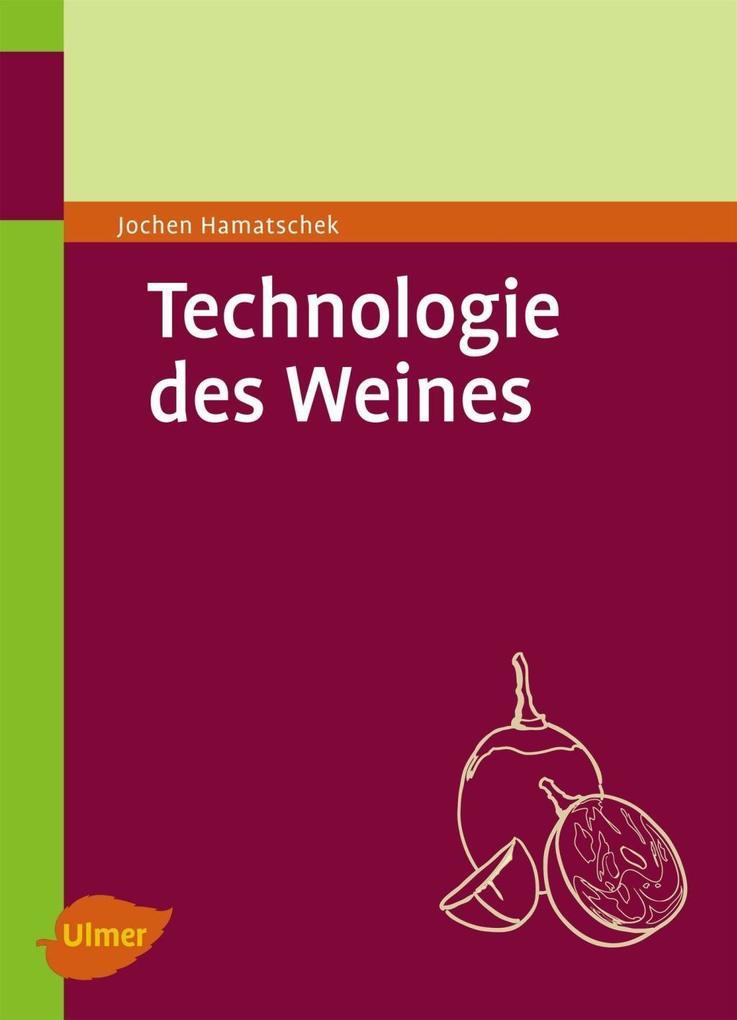 Technologie des Weines als eBook pdf