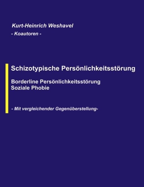 Schizotypische Persönlichkeitsstörung als Buch (kartoniert)