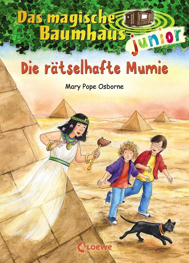Das magische Baumhaus junior 03 - Die rätselhafte Mumie als Buch (gebunden)