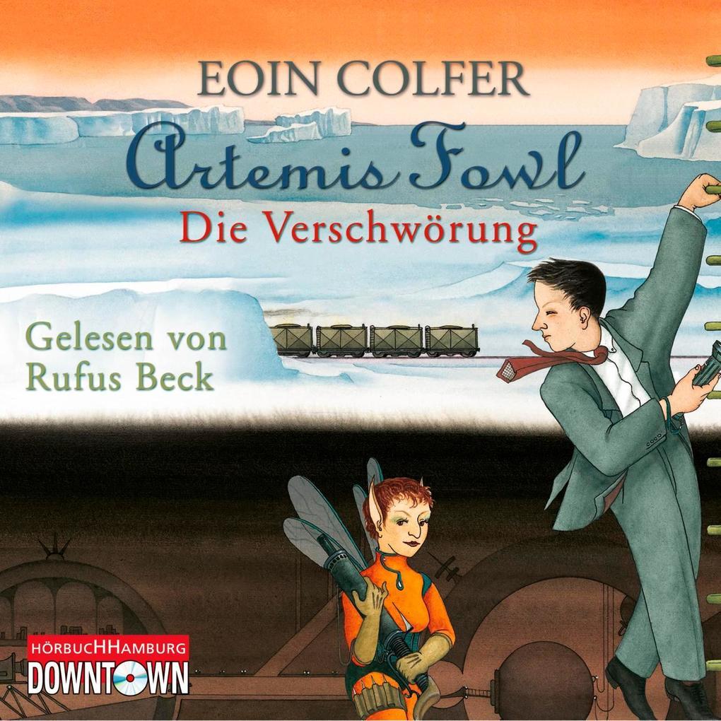 Artemis Fowl - Die Verschwörung als Hörbuch CD