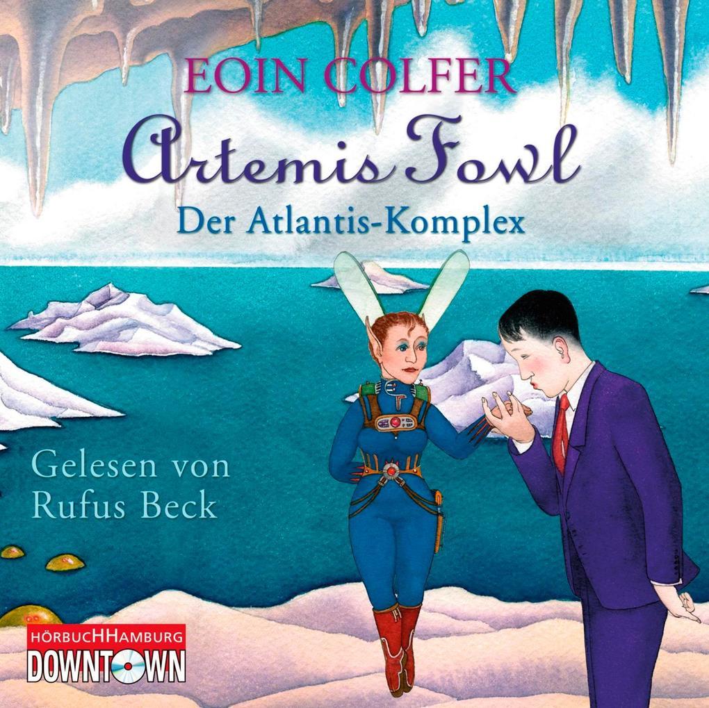 Artemis Fowl - Der Atlantis-Komplex als Hörbuch CD