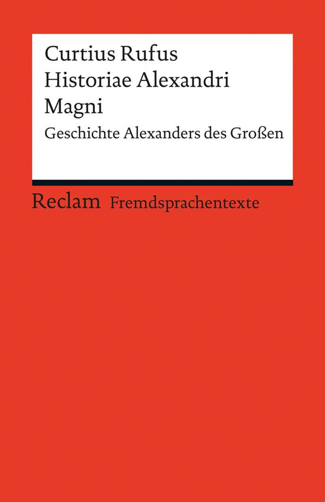 Historiae Alexandri Magni als Taschenbuch