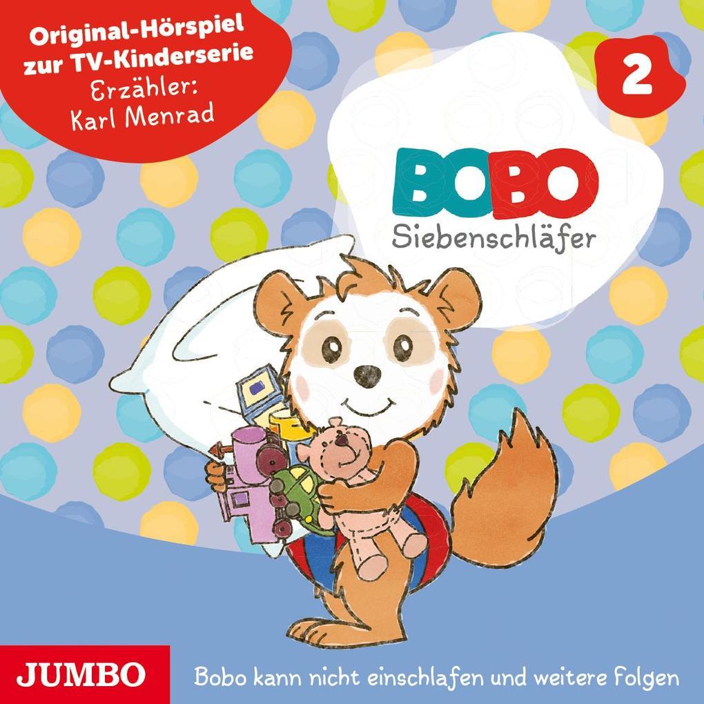 Die ersten Abenteuer von Bobo Siebenschläfer 02 als Hörbuch CD