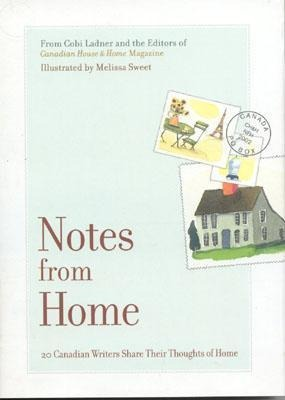 Notes from Home: 20 Canadian Writers Share Their Thoughts of Home als Buch (gebunden)