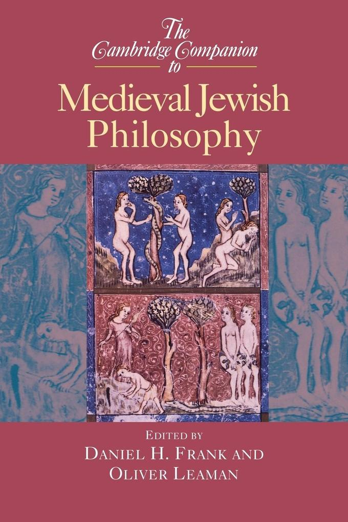 The Cambridge Companion to Medieval Jewish Philosophy als Buch (kartoniert)