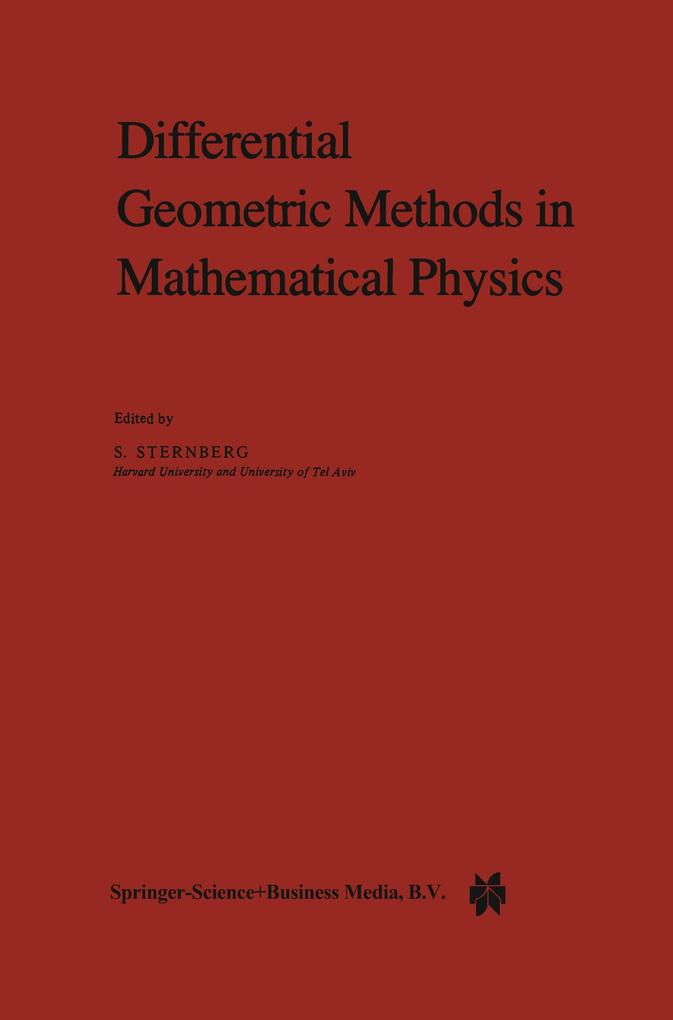 Differential Geometric Methods in Mathematical Physics als Buch (gebunden)