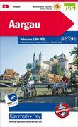 KuF Schweiz Radkarte 05 Aargau 1 : 60 000