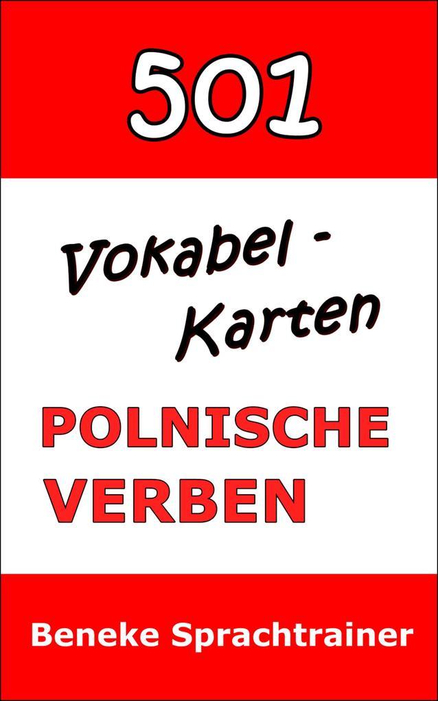Vokabel-Karten Polnische Verben als eBook epub