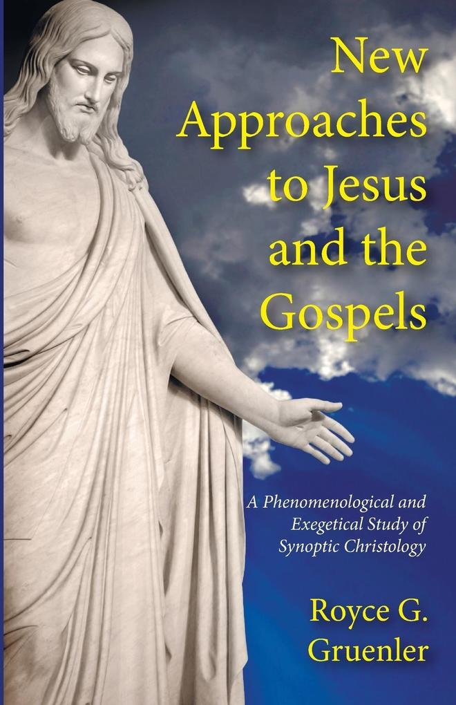 New Approaches to Jesus and the Gospels als Taschenbuch