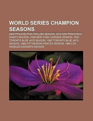 World Series champion seasons als Taschenbuch