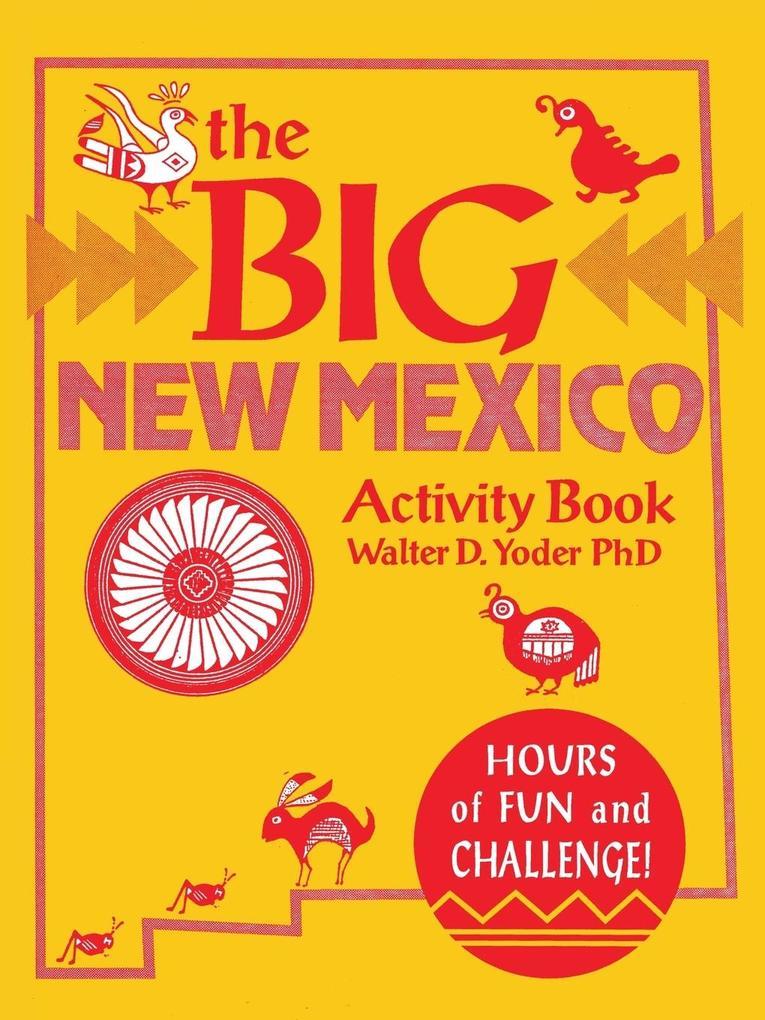 The Big New Mexico Activity Book als Taschenbuch