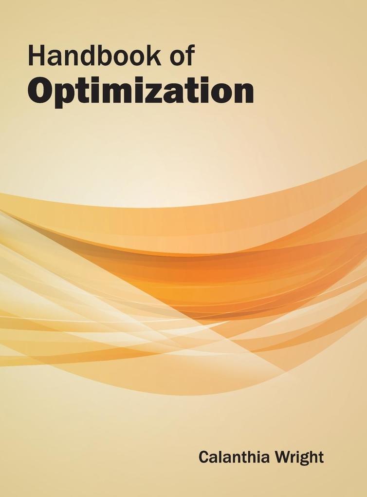 Handbook of Optimization als Buch (gebunden)