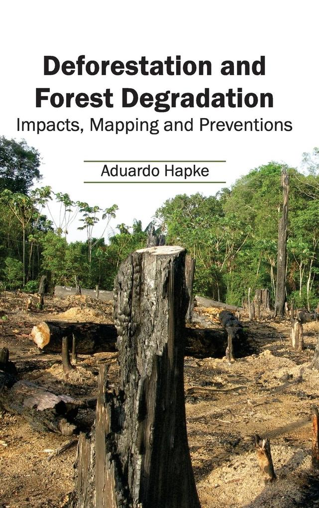 Deforestation and Forest Degradation als Buch (gebunden)