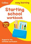 Starting School Workbook Ages 3-5