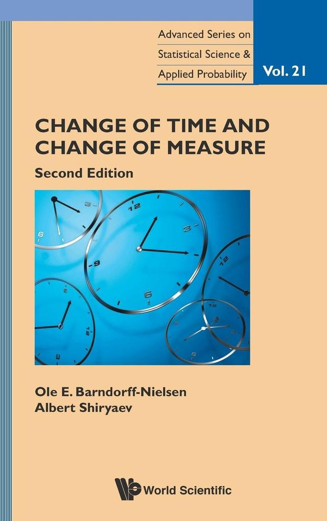 Change of Time and Change of Measure als Buch (gebunden)