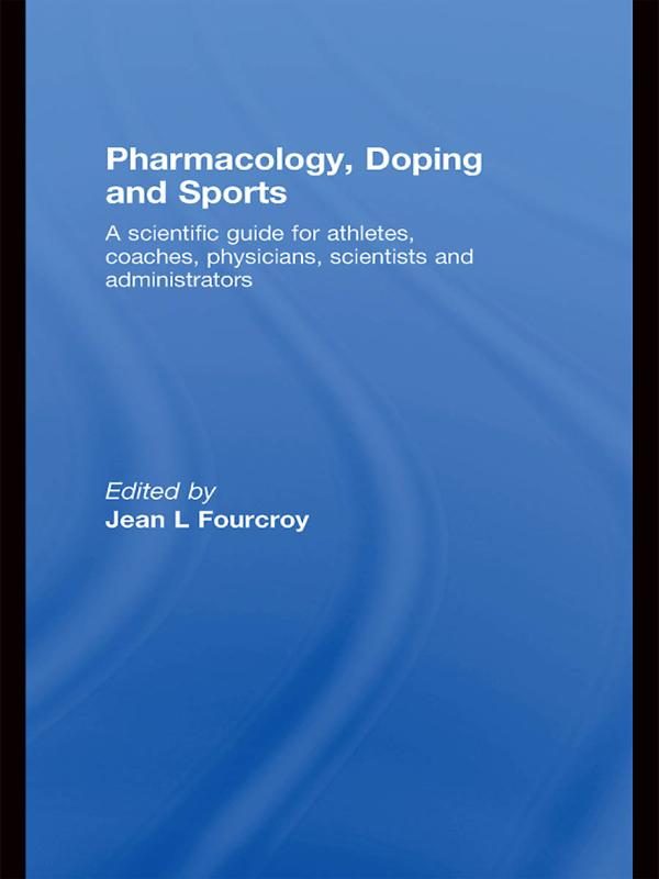 Pharmacology, Doping and Sports als eBook pdf