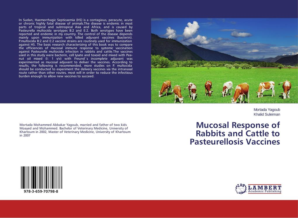 Mucosal Response of Rabbits and Cattle to Pasteurellosis Vaccines als Buch (kartoniert)