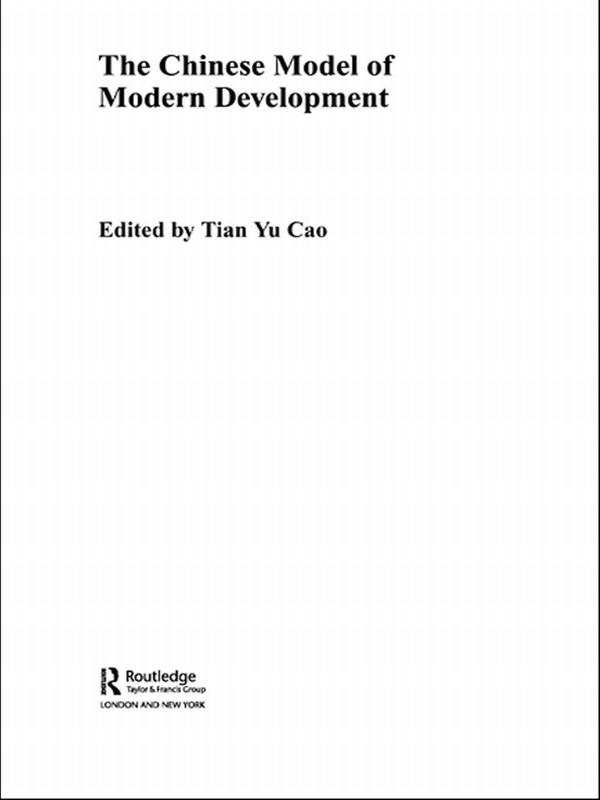 The Chinese Model of Modern Development als eBook pdf