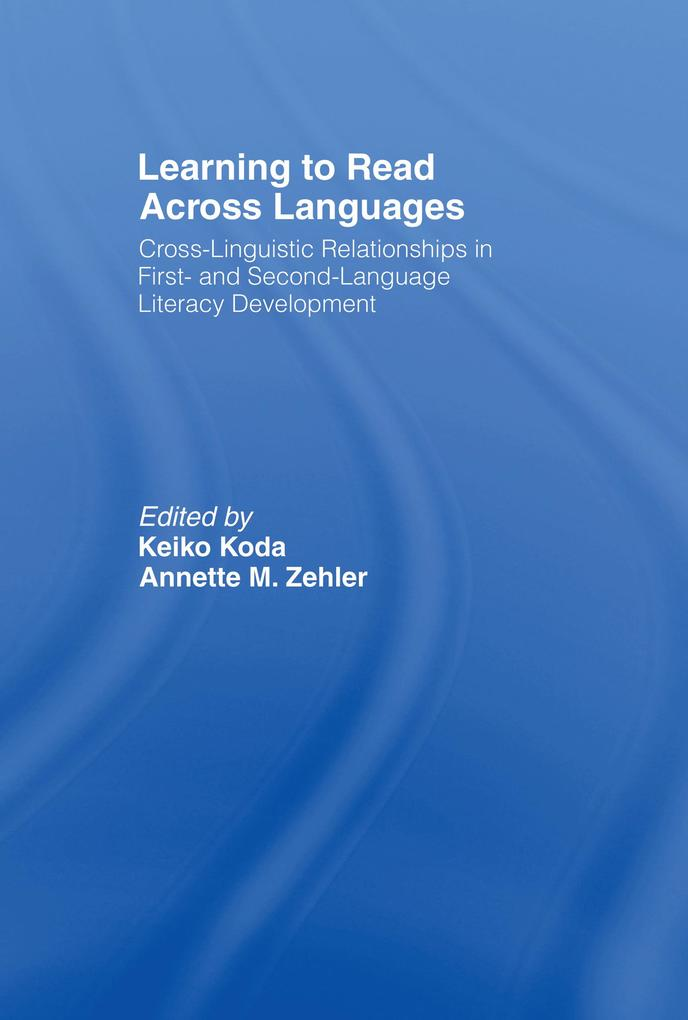 Learning to Read Across Languages als eBook pdf