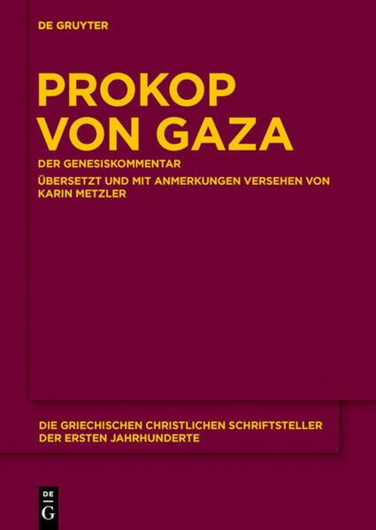 Prokop von Gaza als Buch (gebunden)
