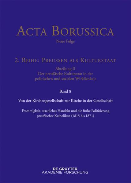 Von der Kirchengesellschaft zur Kirche in der Gesellschaft als Buch (gebunden)