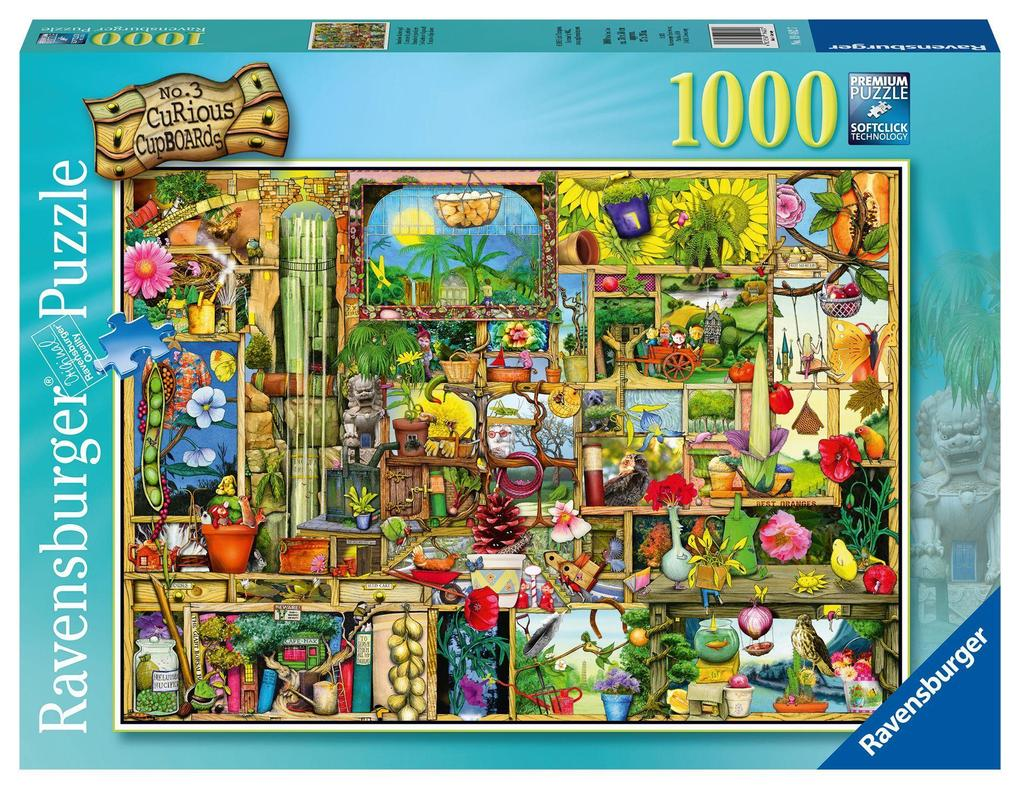 Grandioses Gartenregal Puzzle 1000 Teile als Spielware