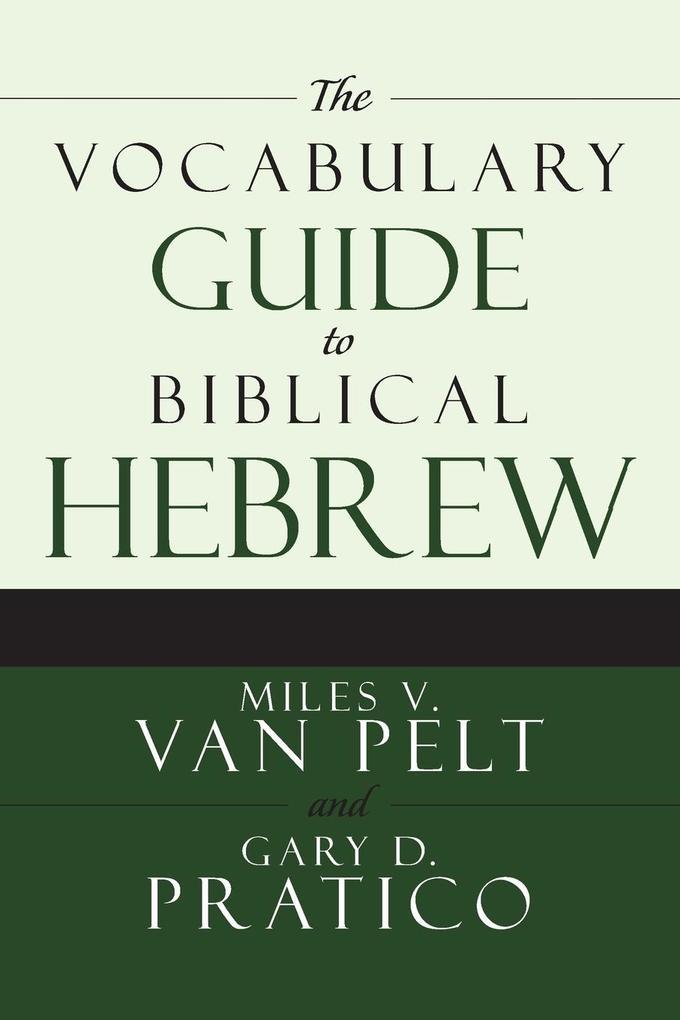 VOCABULARY GDE TO BIB HEB als Taschenbuch